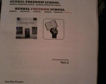 Herbal Freedom School Volume 2-2nd Edition (2016)