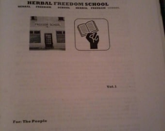 Herbal Freedom School Volume 1 - 2nd Edition( 2016) e-zine