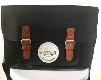 Craftevan Mini Cooper satchel.