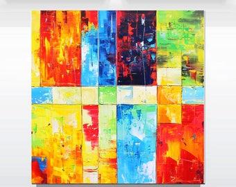"Lovely painting ""Art Deco"" xxl"