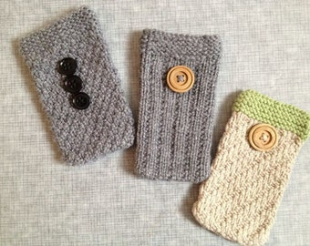 The Boys Club -PDF Pattern, Phone Pouch Collection