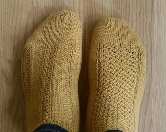 Over The Top, Then In & Out Socks PDF Pattern