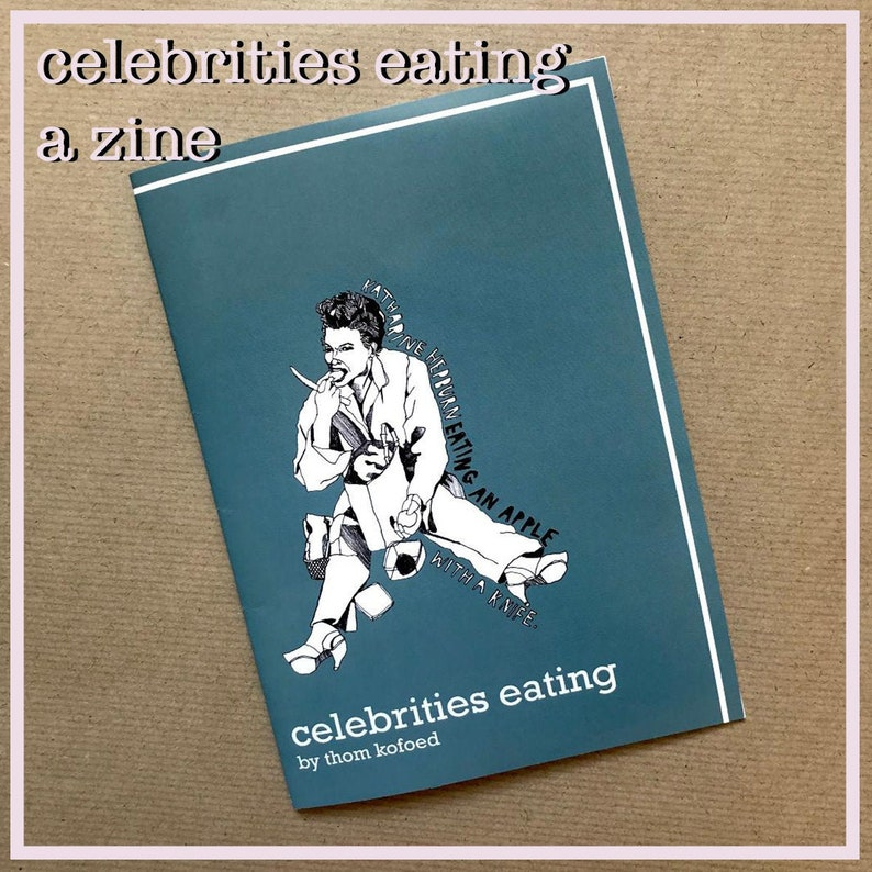 Celebrities eating a zine image 0
