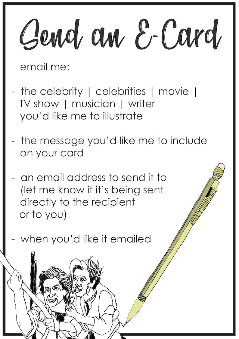 Send a Celebrity E-Card image 0