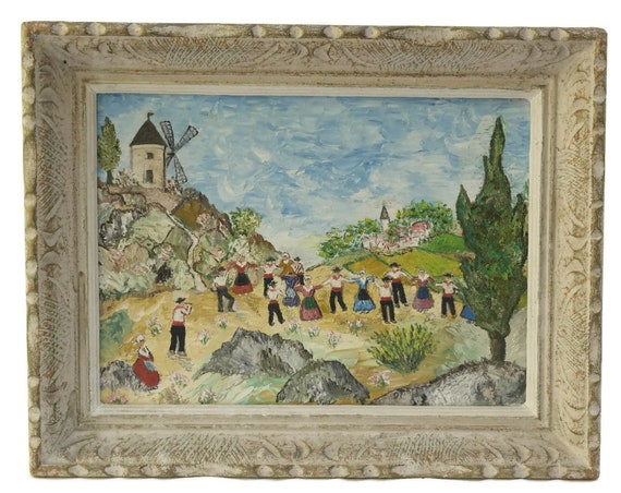 French Impressionist Painting Of Provence.