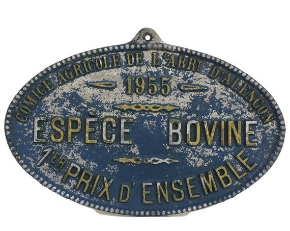 Farm Animal Trophy Medal