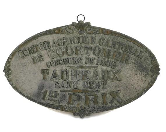 Livestock Trophy Medallion