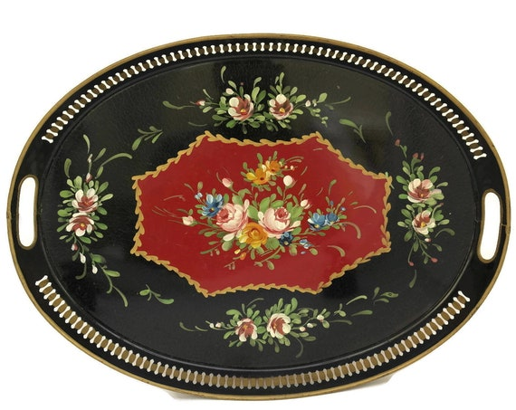 French Toleware Serving Tray
