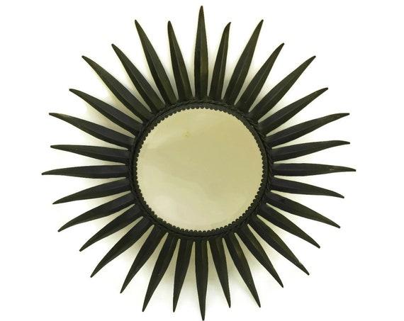 Midcentury Starburst Mirror.