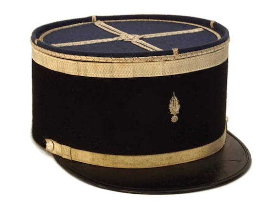 Vintage French Gendarme Hat