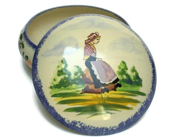 Gabriel Fourmaintraux Ceramic Dish.