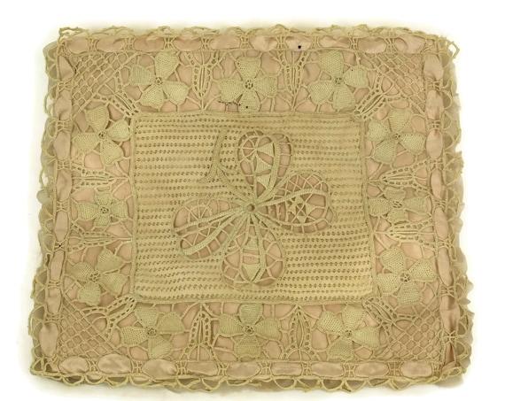Antique French Lingerie Bag.