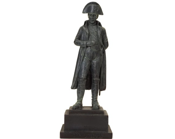 Vintage Napoleon Bonaparte Figurine, Military Decor and Collectible Statuette, Gift For Soldier
