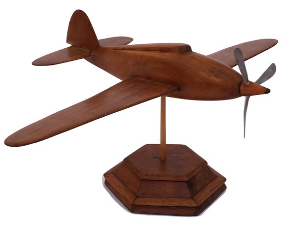Art Deco Desk Model Airplane