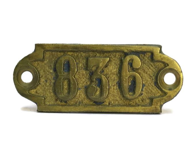 Antique Door Number 836