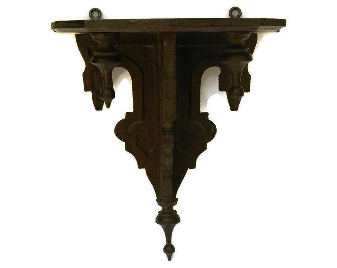 Antique Home Altar Shelf.