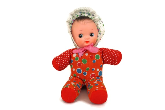 Pixie Rag Doll with Rubber Face