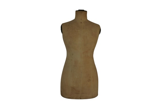 Antique French Mannequin Dress Form by Stockman, Dressmake and Tailors Dummy, Clothes Display Stand