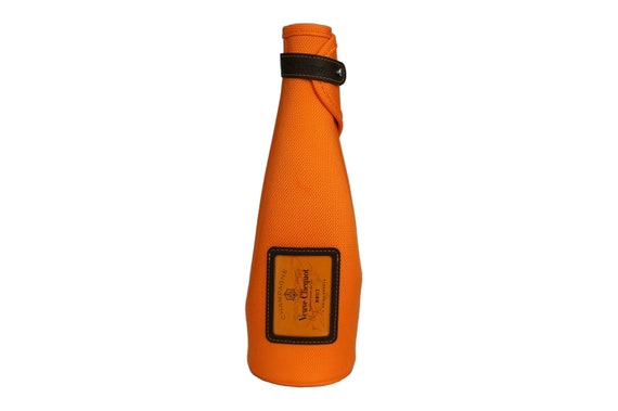 Veuve Clicquot Champagne Bottle Chiller and Carrier, French Bubbly Bar Decor