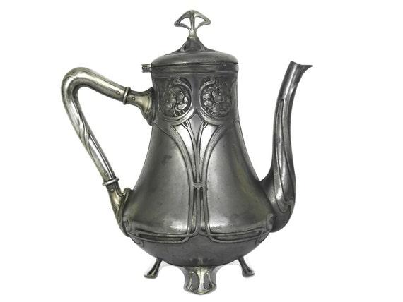 Antique WMF Art Nouveau Coffee Pot