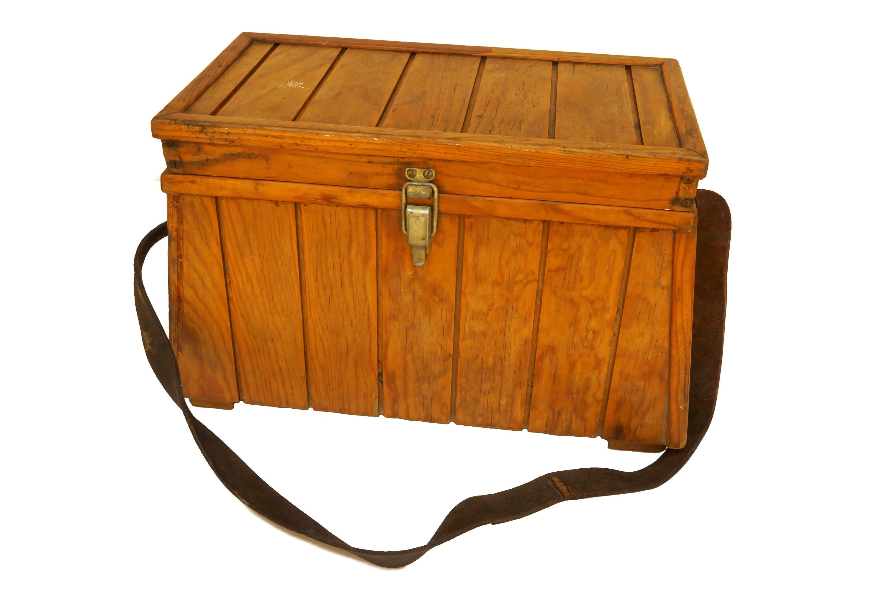 Miraculous Wooden Fishing Tackle Box Stool Seat Vintage French Caraccident5 Cool Chair Designs And Ideas Caraccident5Info