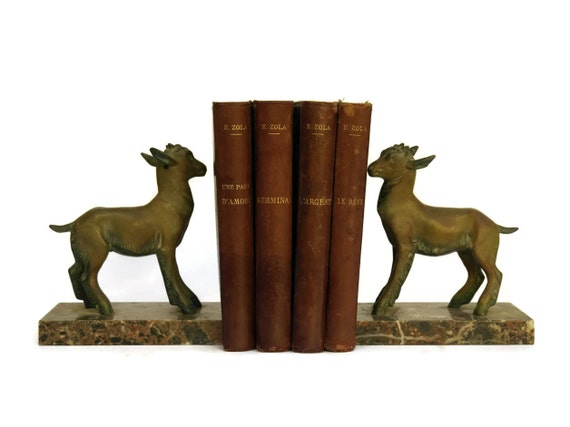Emile Zola Leather Bound Book Set. Antique French Book Collection Published by Charpentier and Fasquelle.