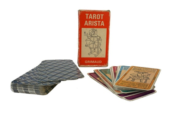 1964 Tarot Arista Card Deck by Grimaud, Fortune Telling and Divination Gifts