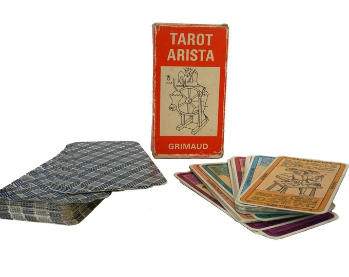1960s Tarot Arista Card Deck by Grimaud, Fortune Telling and Divination Gifts
