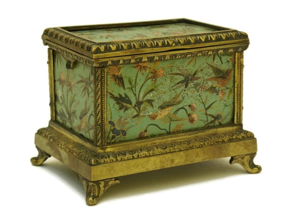 Antique French Jewelry Casket.