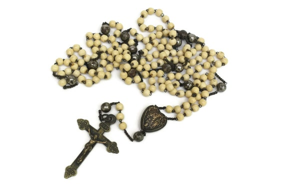 Antique Rosary Beads.