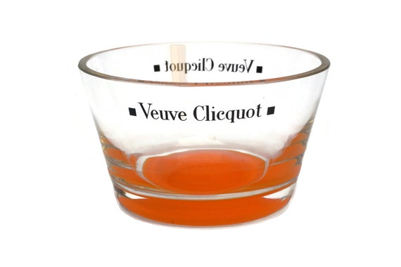 Veuve Clicquot Champagne Nut Bowl, Vintage French Olive Dish