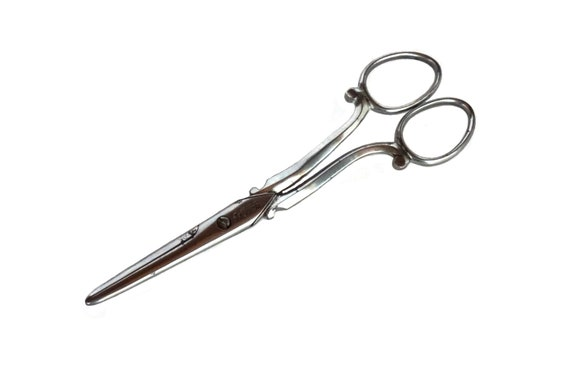 Antique French Grape Scissors by Christofle, Fruit Cutters