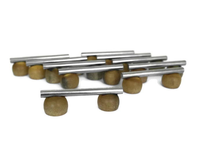Art Deco Horn Cutlery Rests, Set of 10