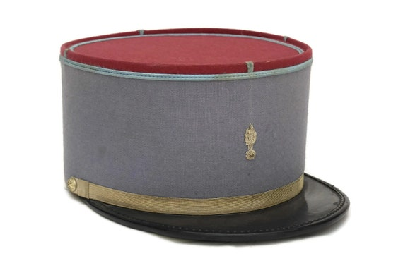 French Blue Military Hat. .