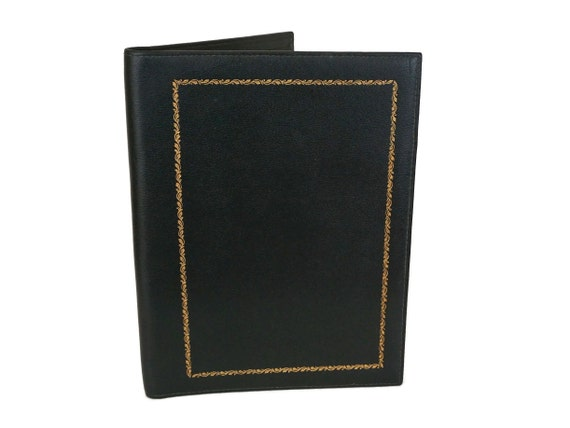 Vintage Le Tanneur Leather Notebook Cover
