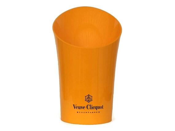 Orange Veuve Clicquot Champagne Bucket