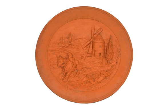 Provencal Souvenir French Pottery Wall Plate