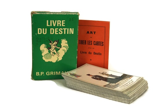 The Book of Destiny Tarot Cards by B.P. Grimaud