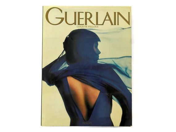 Vintage Guerlain Perfume Book by Colette Fellous. French Coffee Table Book.