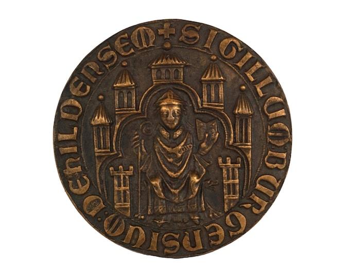 German Bronze Medal Souvenir of Hildesheim