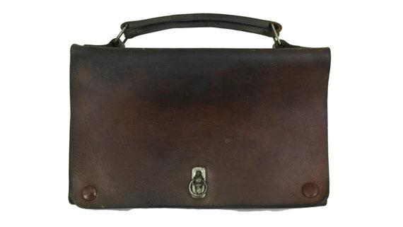 Antique Leather Kids School Bag