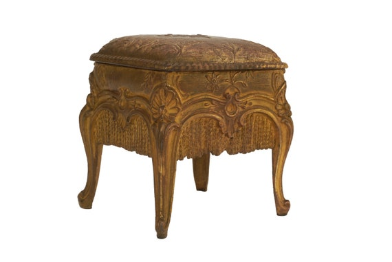 Antique Victorian Jewelry Box, French Jewellery Casket