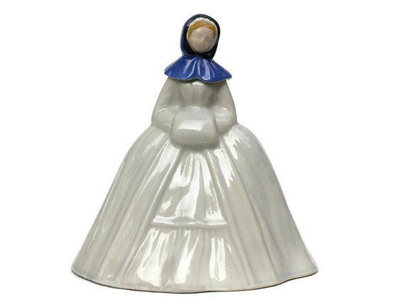 Vintage French Lady Figurine Liqueur Bottle. Marie Brizard Decanter.