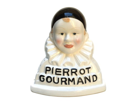 French Pierrot Gourmand Lollipop Holder Display Stand