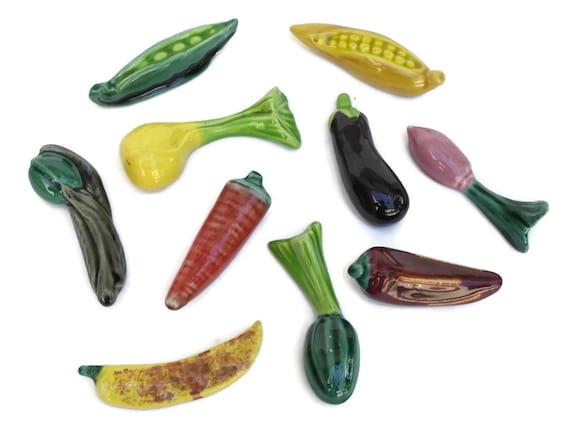 Ceramic Vegetable Knife Rests.