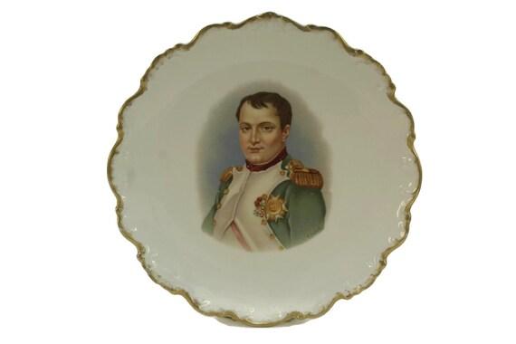 Napoleon Bonaparte Portrait Plate.