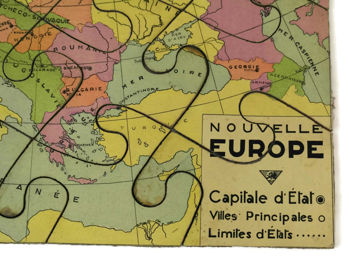French vintage world map jigsaw puzzle map of europe wooden puzzle map of europe wooden puzzle gallery photo gallery photo gallery photo gumiabroncs Images
