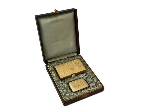 Prayer Book with Coin Purse Set, Antique French Carved Bone Catholic Missel