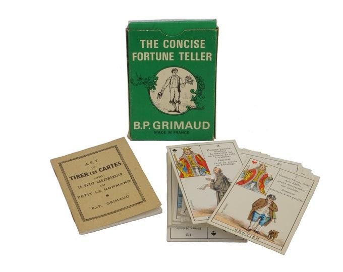 Le Petit Cartomancien French Cartomancy Divination Deck, The Concise Fortune Teller Cards by Grimaud