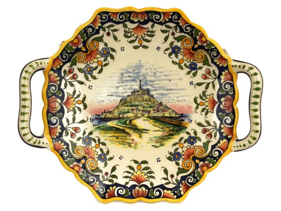Mont Saint Michel Souvenir Wall Plate